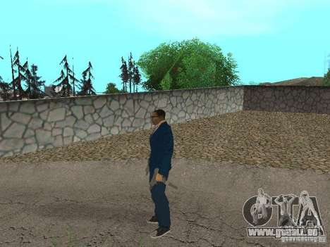 CJ Mafia Skin pour GTA San Andreas septième écran