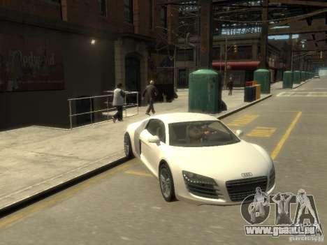 Audi R8 NFS Shift pour GTA 4 Vue arrière