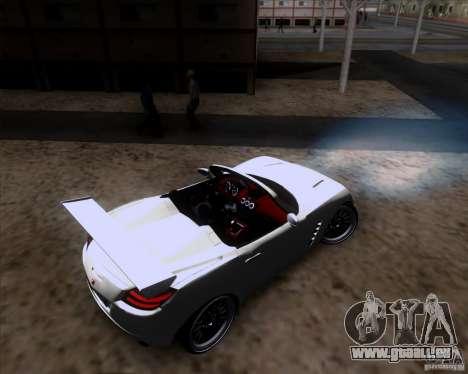 Saturn Sky Roadster pour GTA San Andreas vue de côté