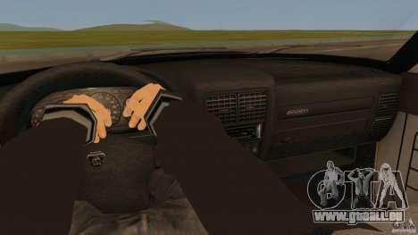 GAZ-310221 601 pour GTA San Andreas sur la vue arrière gauche