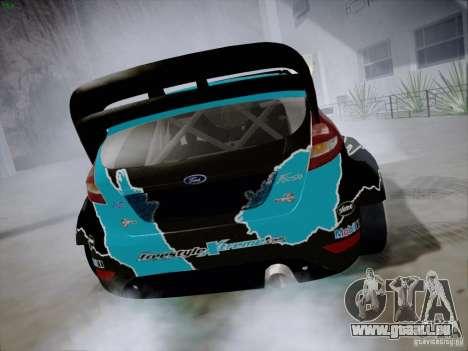 Ford Fiesta RS für GTA San Andreas rechten Ansicht
