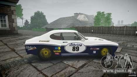 Ford Capri RS 1974 für GTA 4 Innenansicht