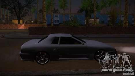 Elegy Drift für GTA San Andreas linke Ansicht