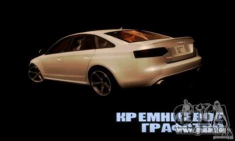 Audi RS6 TT für GTA San Andreas zurück linke Ansicht