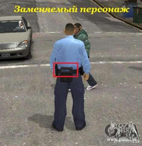 Ultimate NYPD Uniforms mod für GTA 4 achten Screenshot