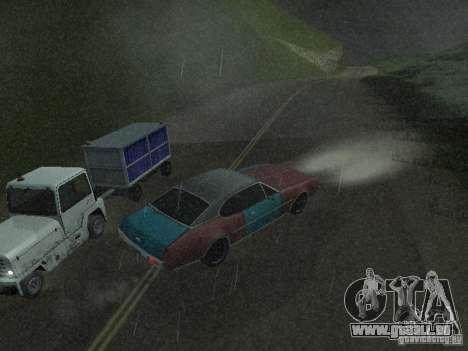 PKW mit Anhänger für GTA San Andreas siebten Screenshot