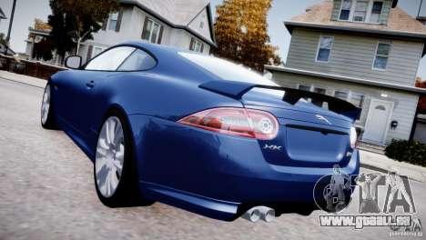 Jaguar XKR-S 2012 pour GTA 4 Vue arrière