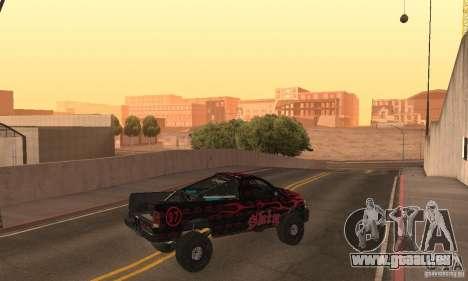 Dodge Power Wagon Paintjobs Pack 1 für GTA San Andreas zurück linke Ansicht