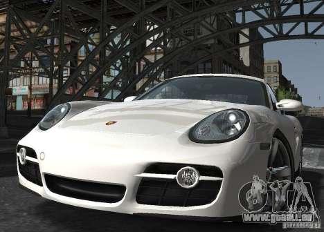 Porsche Cayman S1 für GTA 4 Rückansicht