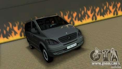 Mercedes-Benz Vito 2007 pour GTA Vice City