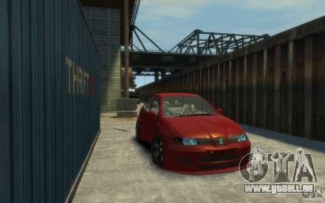Seat Toledo 1.9TDi Sedan pour GTA 4 Vue arrière de la gauche