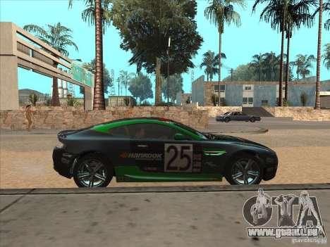 Aston Martin v8 Vantage n400 für GTA San Andreas Seitenansicht