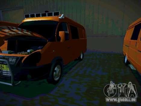 Gazelle 2705 Business für GTA San Andreas rechten Ansicht