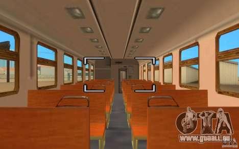 Train ER2-K-1321 pour GTA San Andreas vue de droite