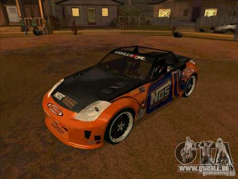 Nissan 350Z NOS Energy Drink für GTA San Andreas