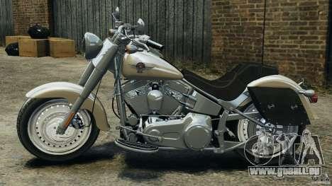 Harley Davidson Softail Fat Boy 2013 v1.0 pour GTA 4 est une gauche