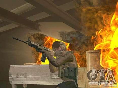 Pilote militaire pour GTA San Andreas deuxième écran