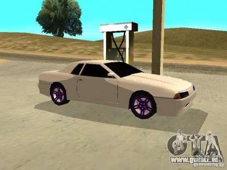New Elegy v.1 für GTA San Andreas Rückansicht