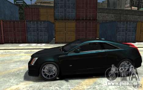 Cadillac CTS-V Coupe 2011 v.2.0 pour GTA 4 est une gauche