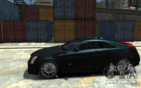 Cadillac CTS-V Coupe 2011 v.2.0 für GTA 4 linke Ansicht