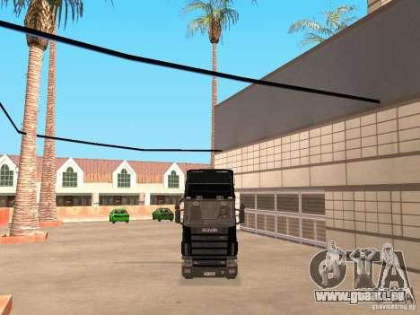Scania 124L 420 pour GTA San Andreas laissé vue