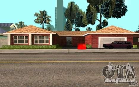 Nouvelles textures maison Millie pour GTA San Andreas deuxième écran