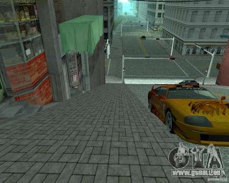 Neue Straßen in San Fierro für GTA San Andreas her Screenshot