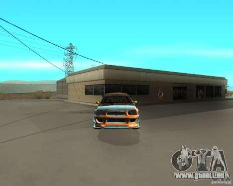 Subaru Impreza WRX Team Orange DRIFT SA-MP pour GTA San Andreas vue de droite