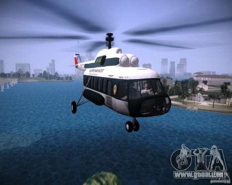 MIL MI-8 für GTA Vice City linke Ansicht