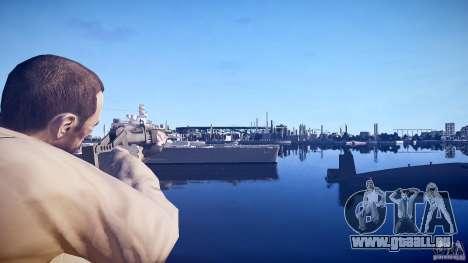 Neue Schrotflinte für GTA 4 Sekunden Bildschirm