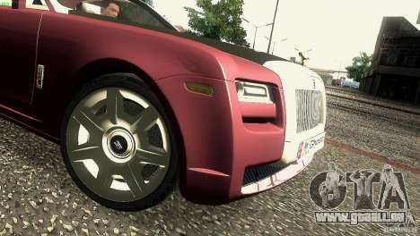 Rolls-Royce Ghost 2010 V1.0 für GTA San Andreas Seitenansicht