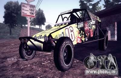 Buggy Monster energy pour GTA San Andreas