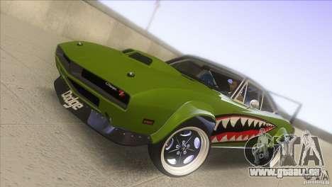 Dodge Charger RT SharkWide für GTA San Andreas Seitenansicht
