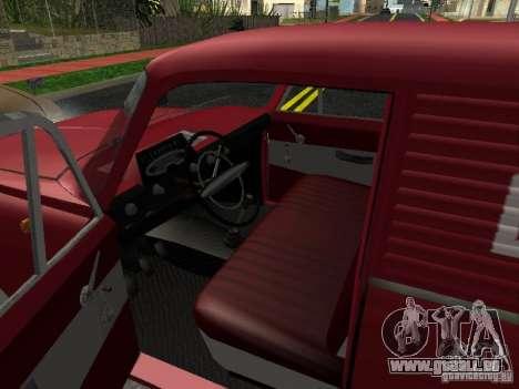 Moskvich 434 pour GTA San Andreas vue de droite