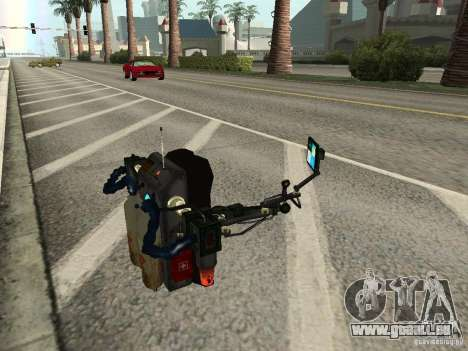 Eine neue Jetpack für GTA San Andreas fünften Screenshot