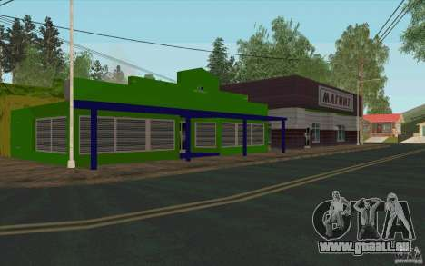 Un nouveau village Dillimur pour GTA San Andreas neuvième écran