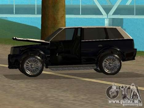 Huntley in GTA IV für GTA San Andreas Rückansicht