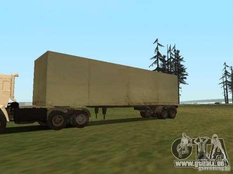 NefAZ 93344 trailer für GTA San Andreas rechten Ansicht