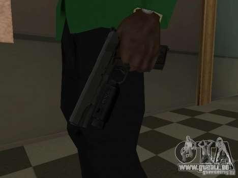 Colt 1911 pour GTA San Andreas troisième écran