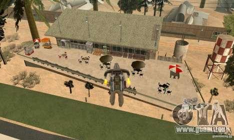 New CJs Airport pour GTA San Andreas troisième écran