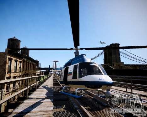 Russian Police Maverick pour GTA 4