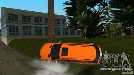 Mercedes-Benz ML 500 pour une vue GTA Vice City d'en haut