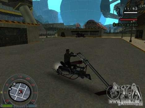 Motard moto de la ville de Alien pour GTA San Andreas