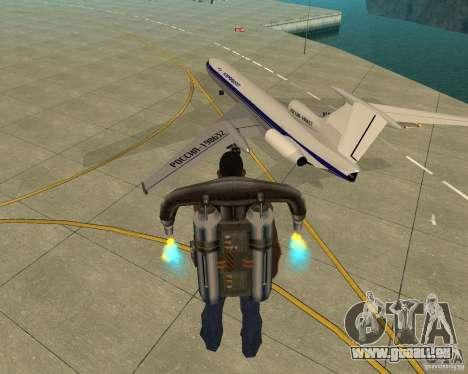 Le Tu-154 pour GTA San Andreas laissé vue
