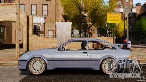 Ford Sierra RS500 Cosworth 1987 pour GTA 4 est une gauche