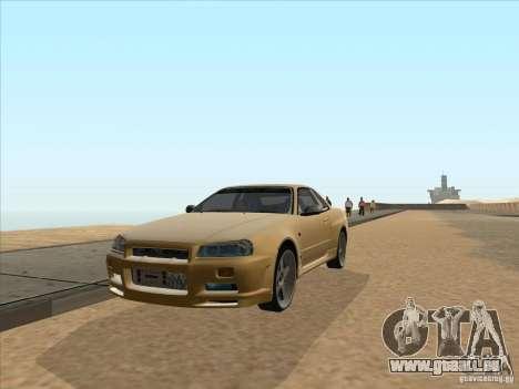 Nissan Skyline R34 VeilSide pour GTA San Andreas