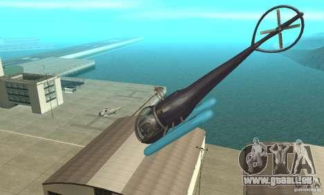 Dragonfly pour GTA San Andreas vue de côté