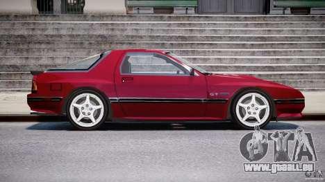 Mazda RX7 FC3S v2 FINAL pour GTA 4 Vue arrière