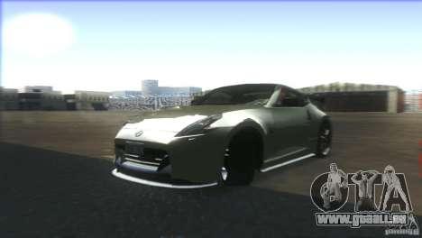 Nissan 370Z Drift 2009 V1.0 pour GTA San Andreas