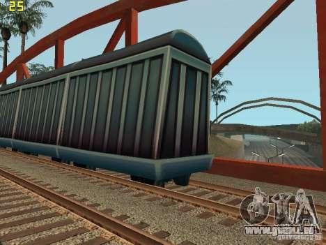 Wagons de marchandises des surfeurs métro pour GTA San Andreas